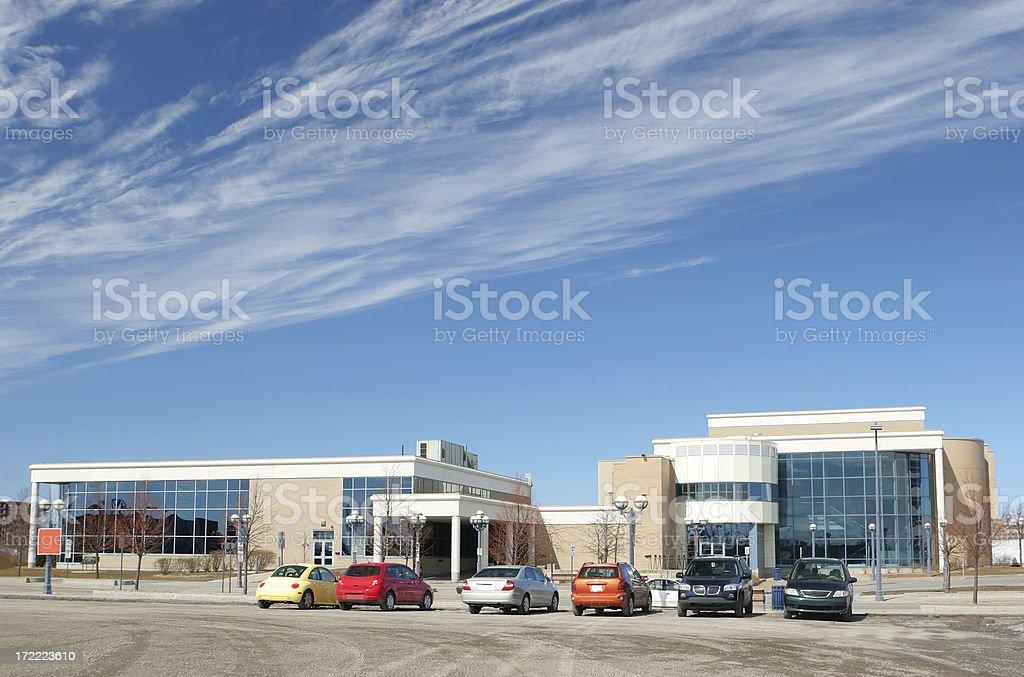 Education Center royalty-free stock photo