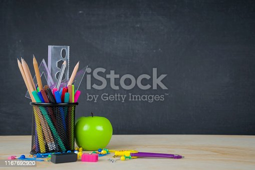 istock Education concept. a chalkboard background 1167692920
