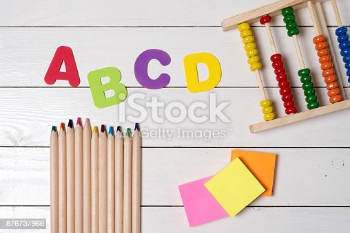istock Education concept. Back to school theme 876737966