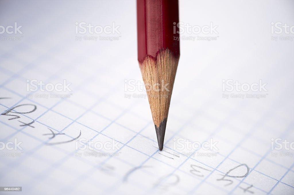 Conceito de educação - Foto de stock de Branco royalty-free