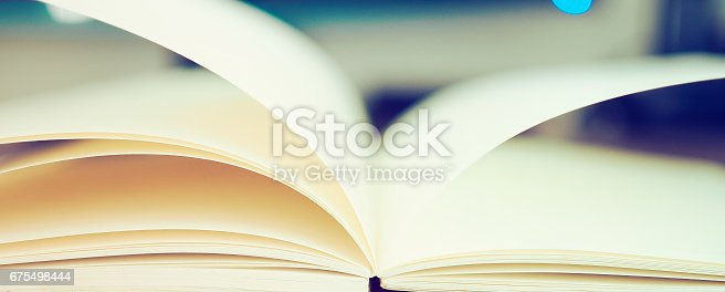 istock Education Concepts: Book and magnifying glass 675498444