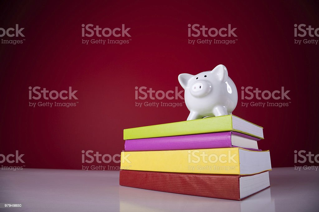 Education cost stock photo