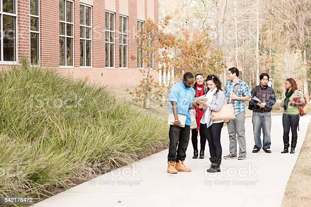 Education diverse group of college students walk to class campus picture id542176472?b=1&k=6&m=542176472&s=612x612&h=ih6cuf1bax8vik okurgjeislrwvszvhwfvgsly su8=