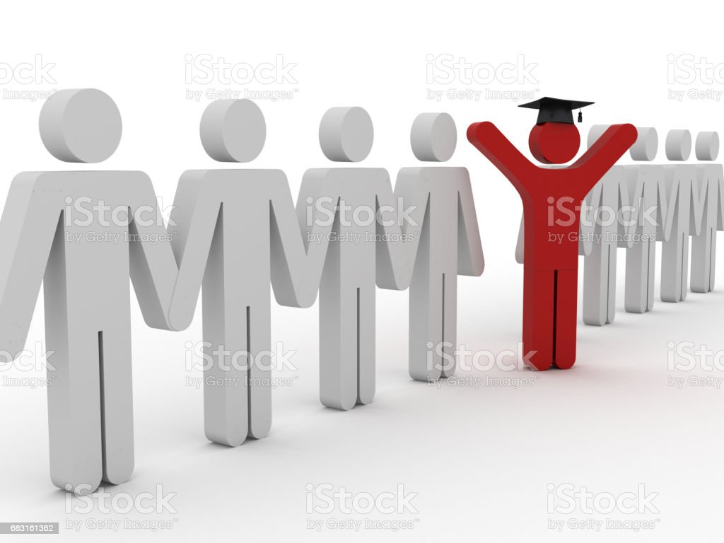 教育畢業成功概念 免版稅 stock photo