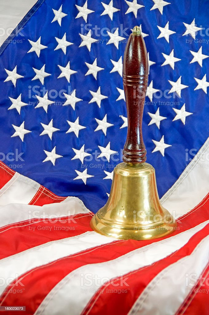 Education in America ... Set Bell royalty-free stock photo