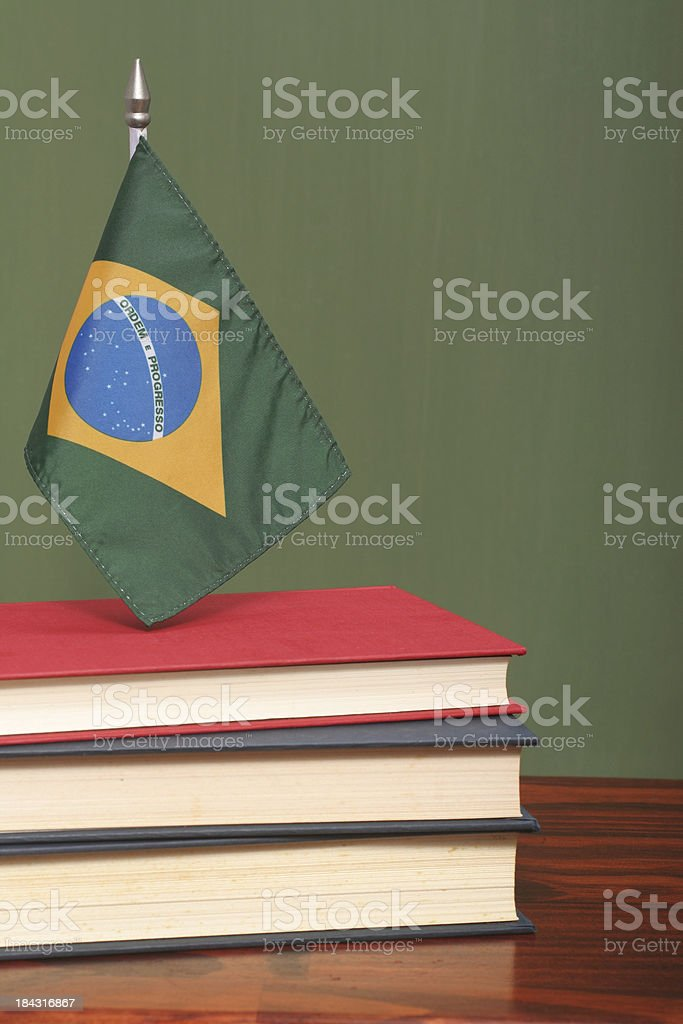 Education in Brazil royalty-free stock photo