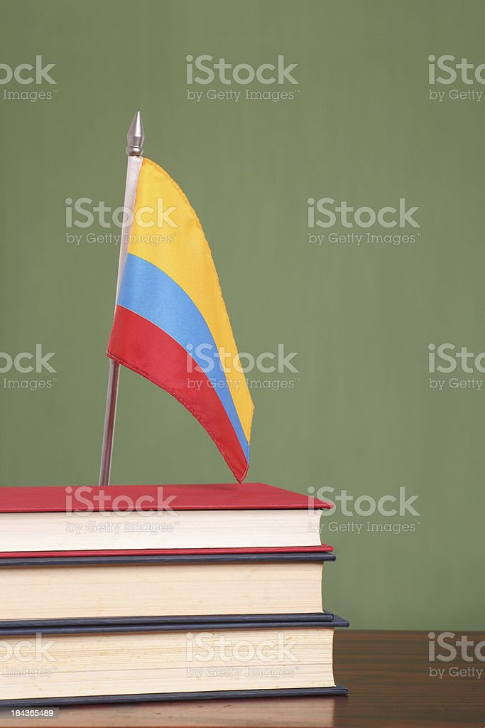 Education in Colombia royalty-free stock photo