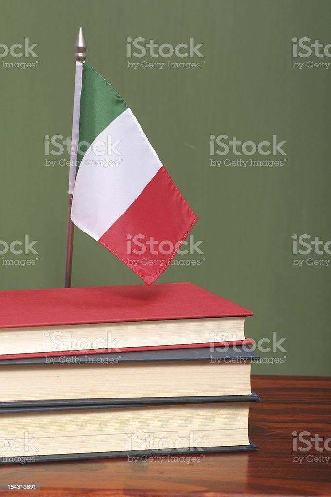 Education in Italy royalty-free stock photo