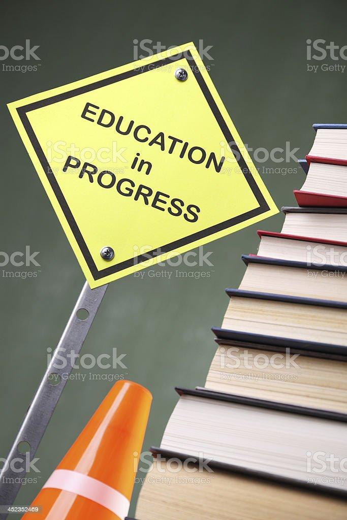Education in Progress royalty-free stock photo
