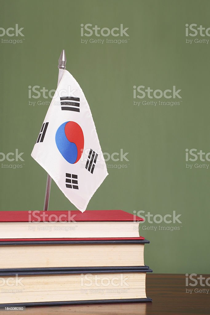 Education in South Korea royalty-free stock photo