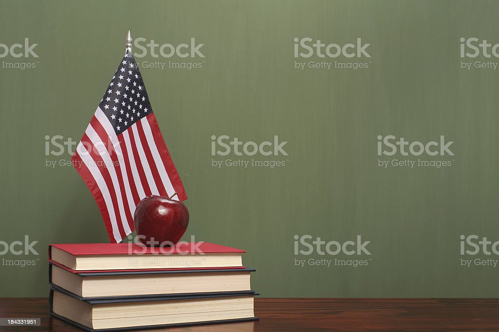 Education in USA stock photo