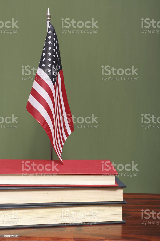 Education in USA royalty-free stock photo