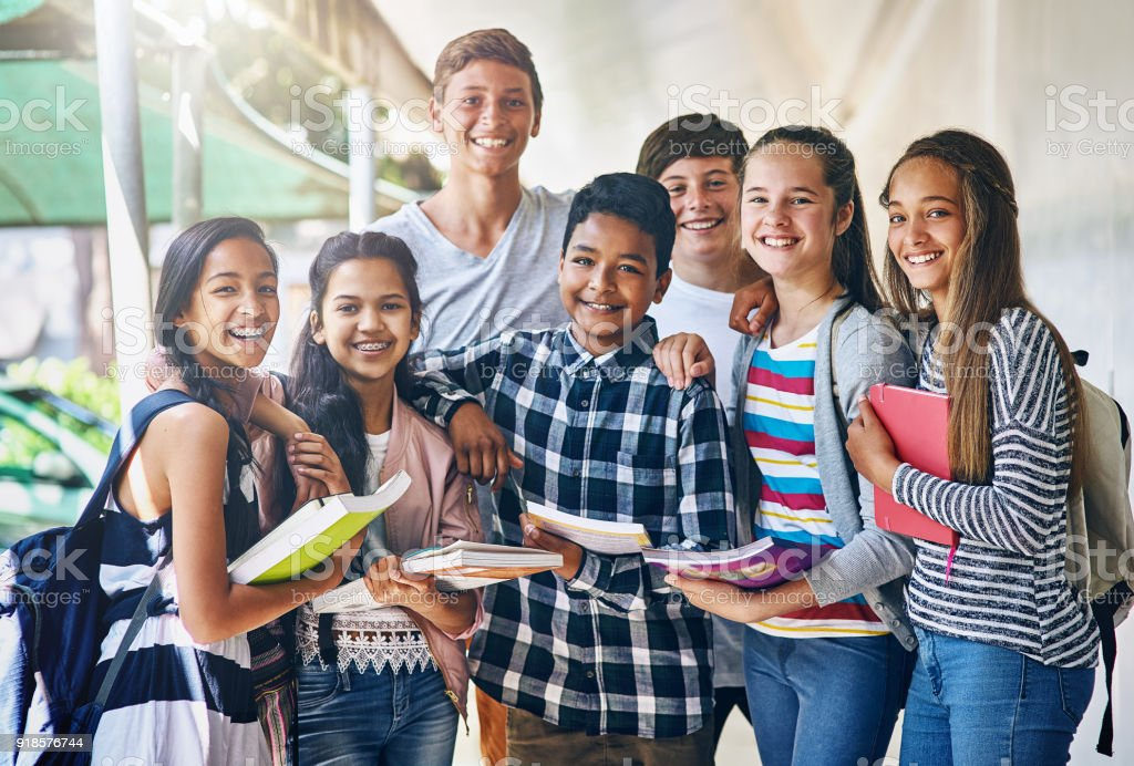 Education is the key to our future stock photo
