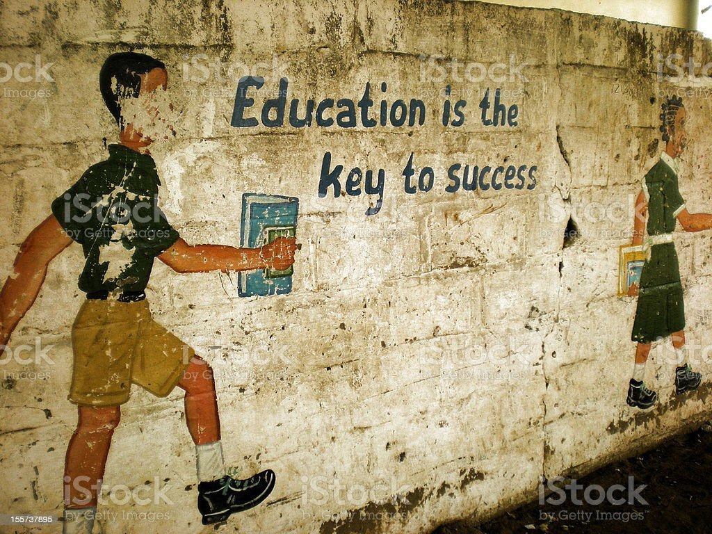 Education is the Key to Success stock photo