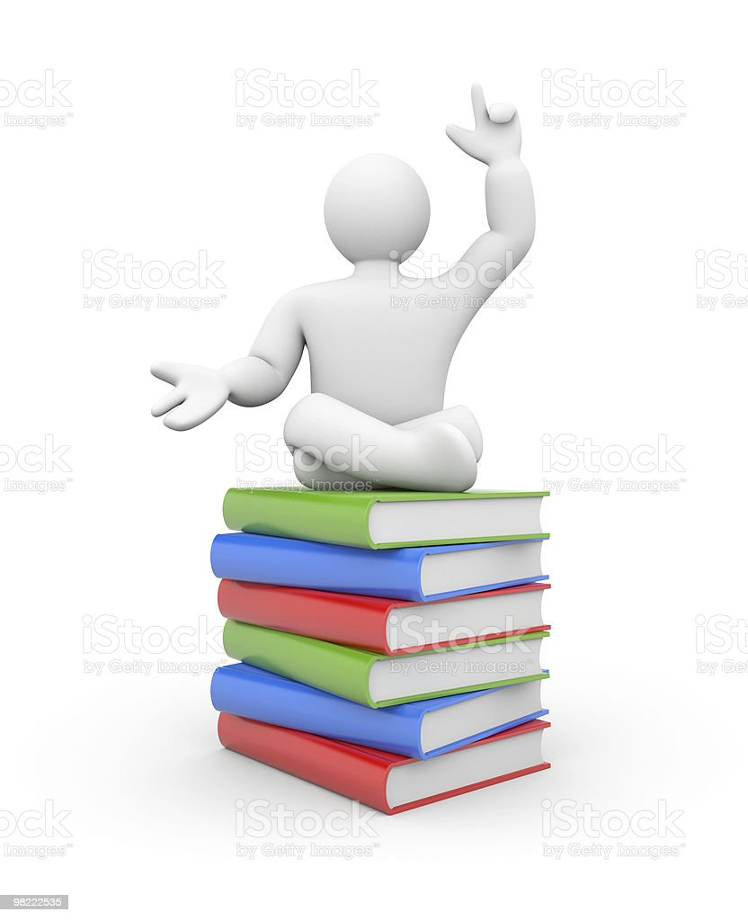 Education metaphor royalty-free stock photo