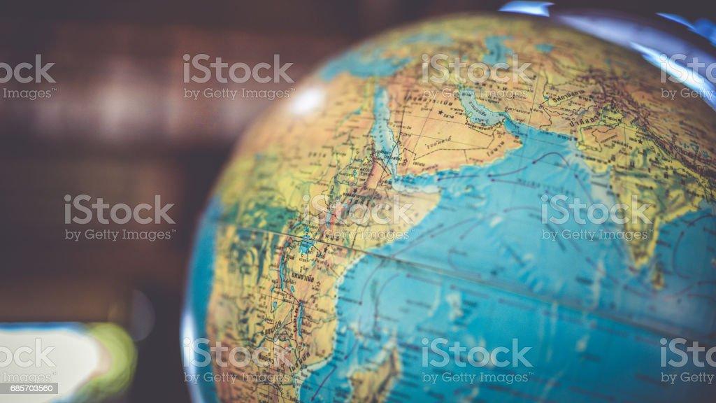 Education Photos Globe Simulation Model Blue Stock Photo