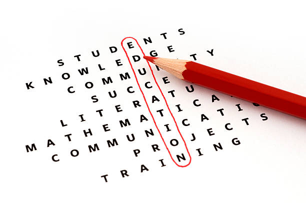 education - word game stock pictures, royalty-free photos & images
