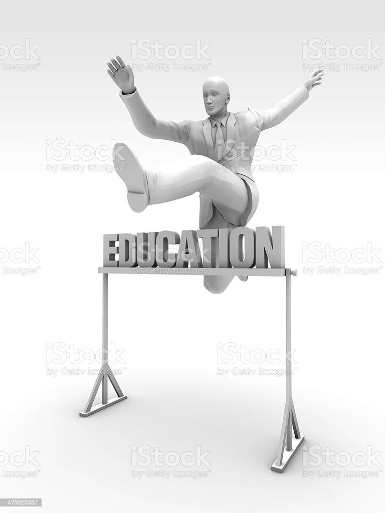 Education Race stock photo