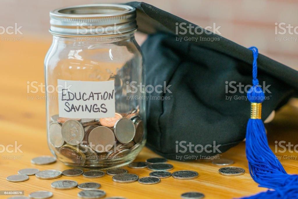 Education Savings stock photo