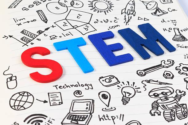 STEM education. Science Technology Engineering Mathematics. - foto de stock