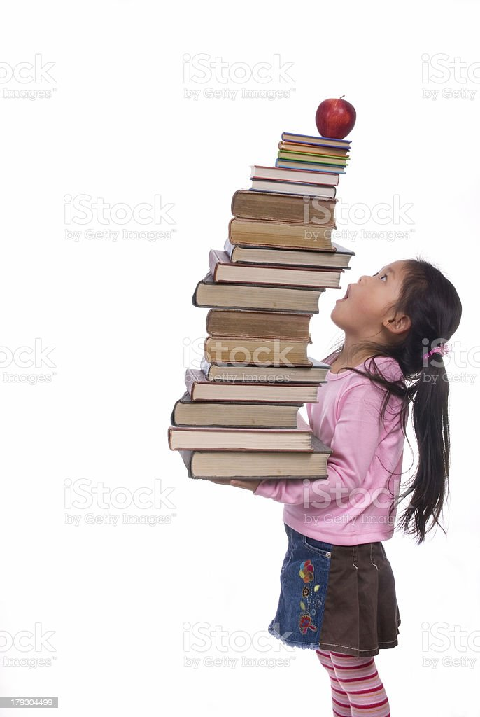 Education Series (sky high books) royalty-free stock photo