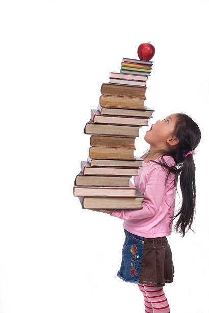 Education Series (sky high books) stock photo