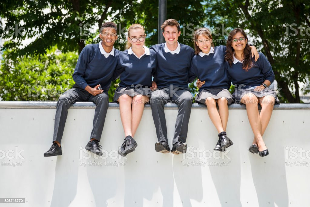 Education Students People Knowledge Concept stock photo