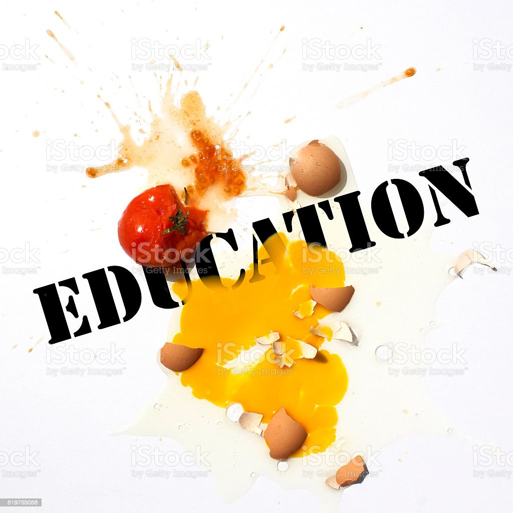 Education System Protest stock photo