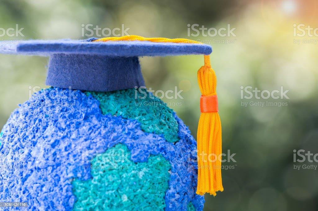 Education world or Graduated study abroad international ideas....