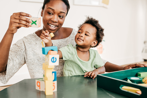 639403466 istock photo Educational activities for toddlers 639403466