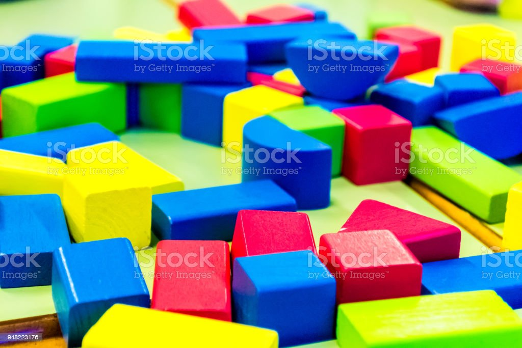 educational crafts with children stock photo