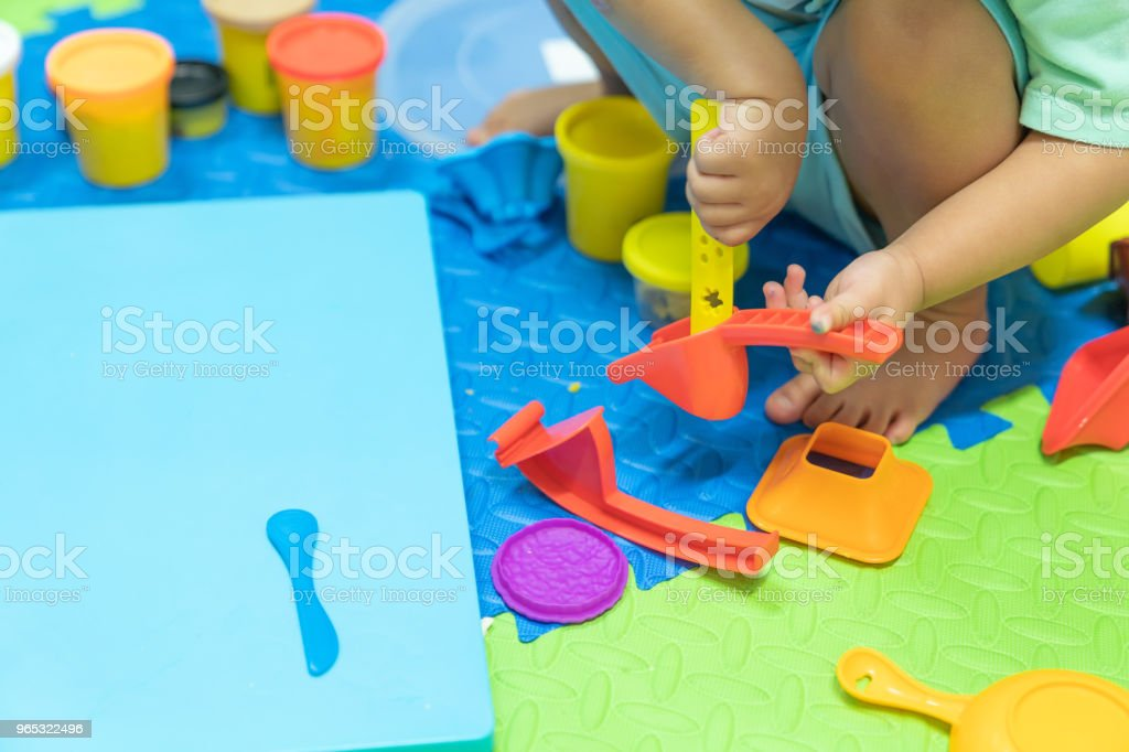 Educational play model toys for kid creative for toddlers concept. royalty-free stock photo