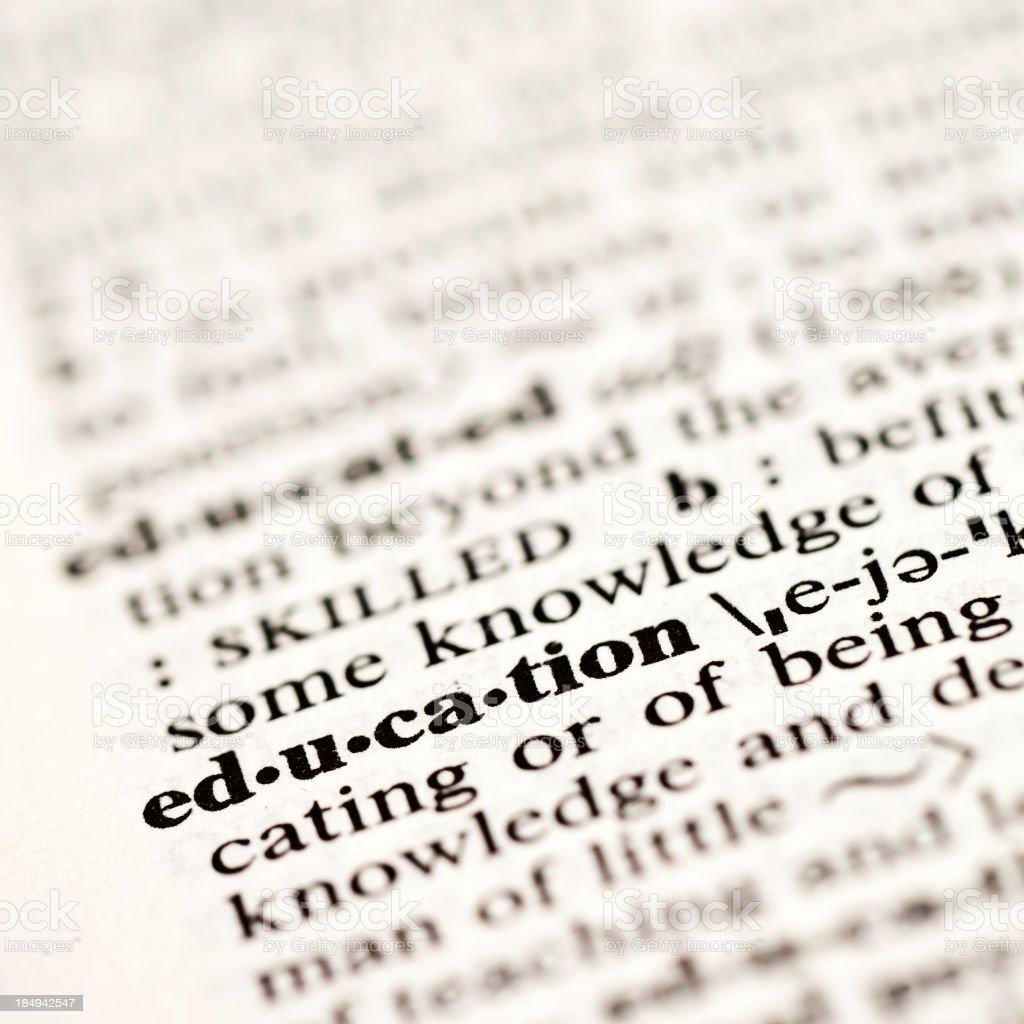 Educatoin stock photo