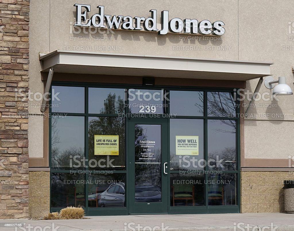 Edward Jones stock photo