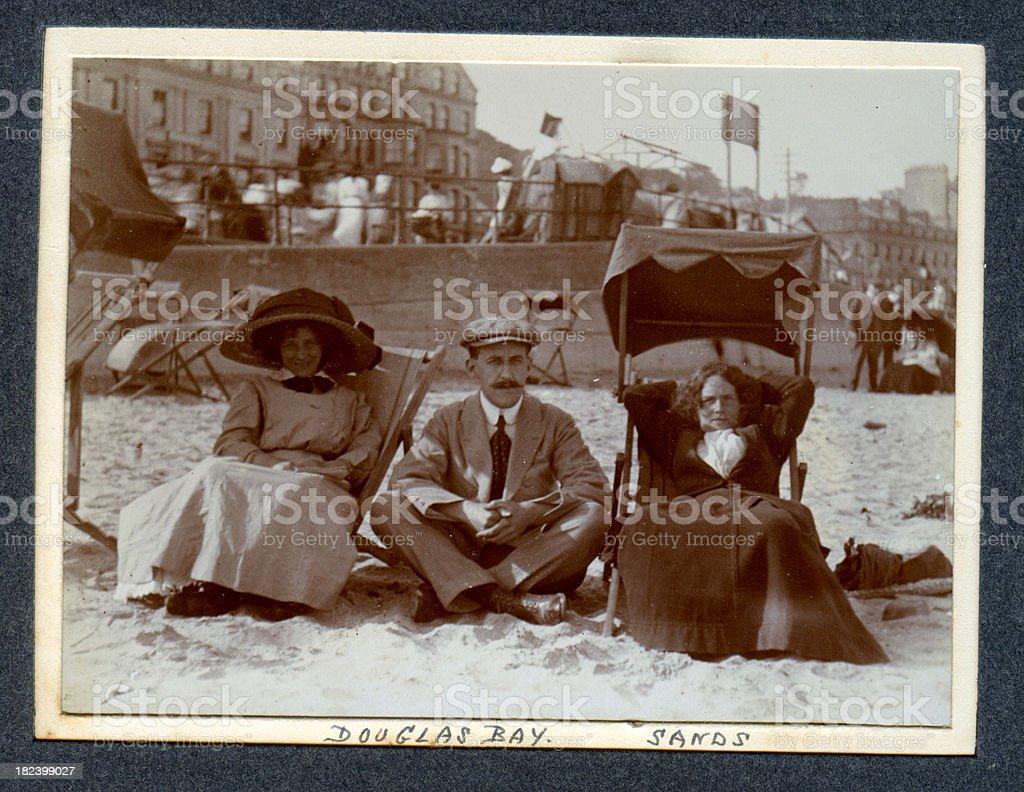Edwardian Holiday stock photo