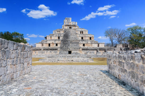 edzna, mexico. - empire stock pictures, royalty-free photos & images