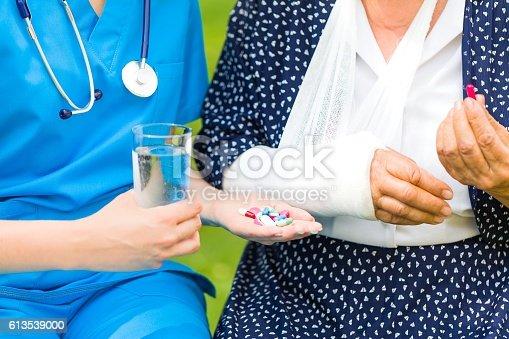 istock Effecient remedy helps 613539000