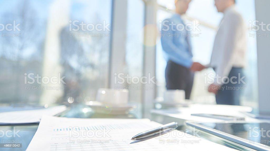 Effective meeting stock photo