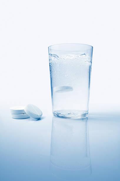 Emocionante aspirina - foto de stock