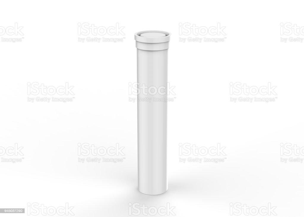 Brausetabletten Tube Mock-up – Foto
