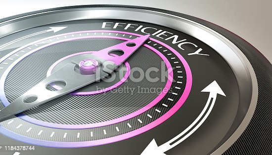 836284468 istock photo efficiency concept 1184378744