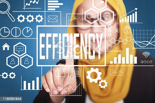 istock Efficiency in Business Concept 1150591644