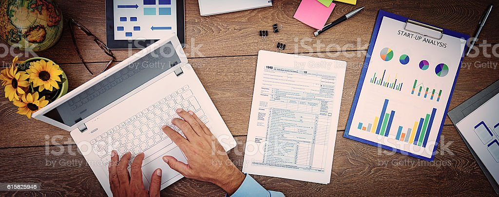 Efficiency  in corporate structures stock photo