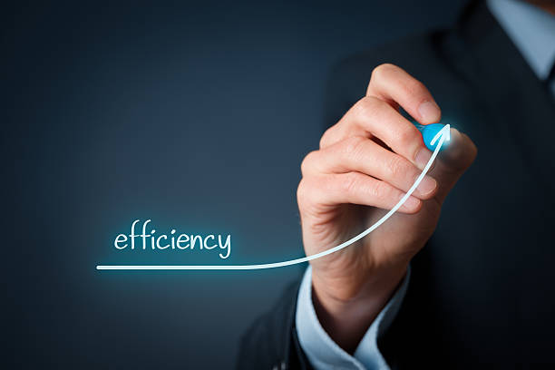 efficiency increase - efficiency stock photos and pictures