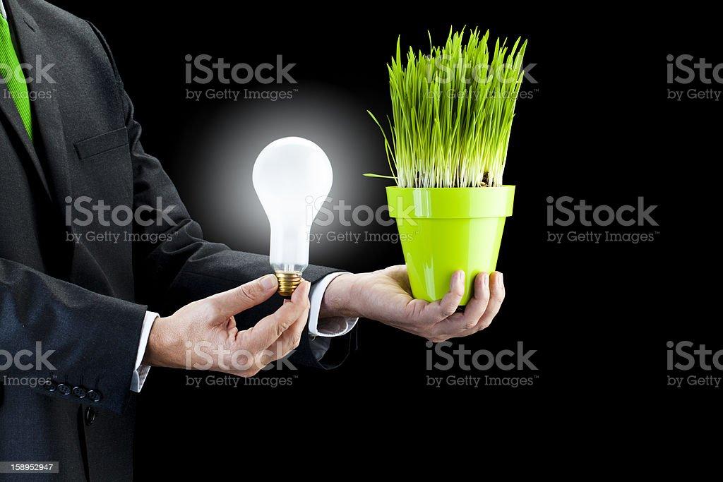 Efficient energy royalty-free stock photo