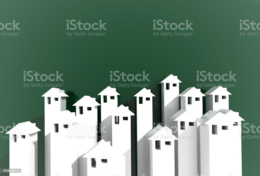 Efficient home copy space background stock photo