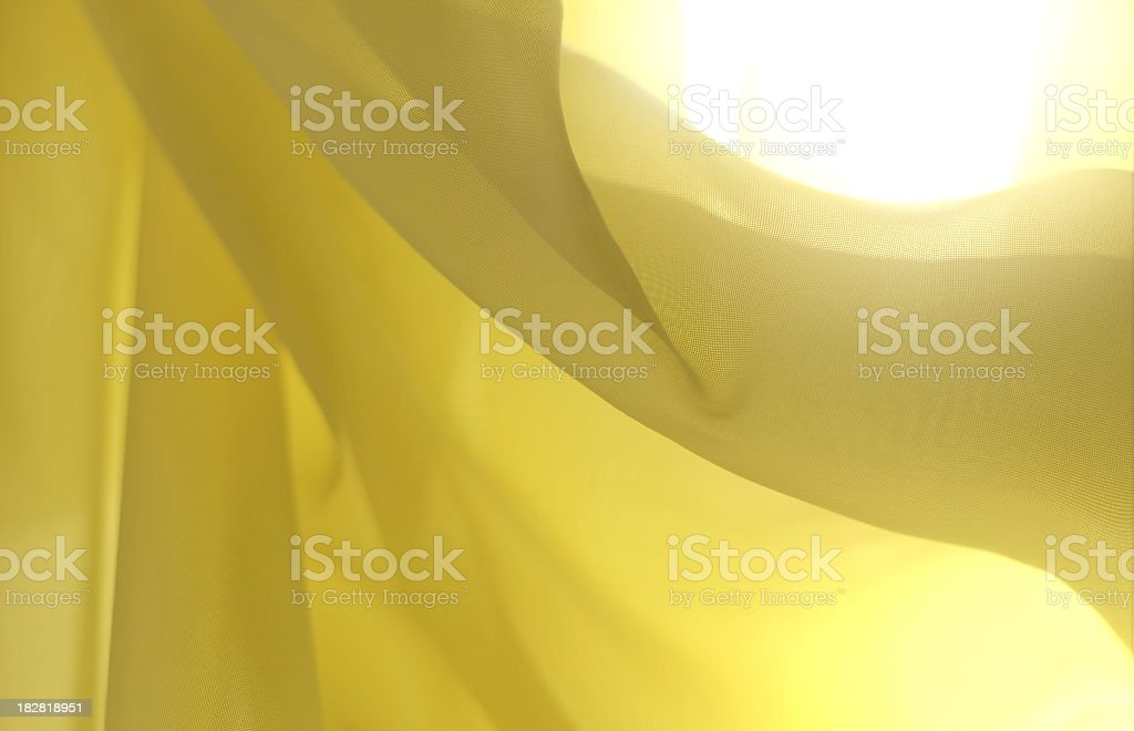 Effortless Yellow-abstract background royalty-free stock photo