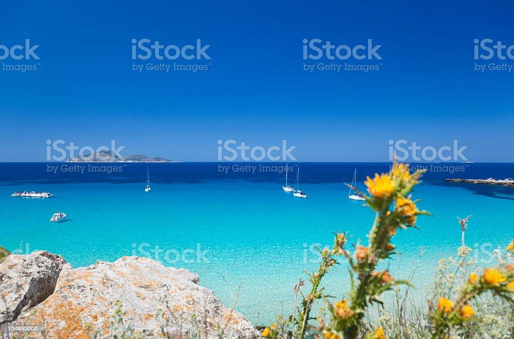 Egadi Islands, Sicily, Italy. stock photo