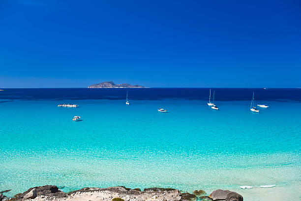 Egadi Islands, Sicily, Italy. Perfect blue sea.See also: sicily stock pictures, royalty-free photos & images