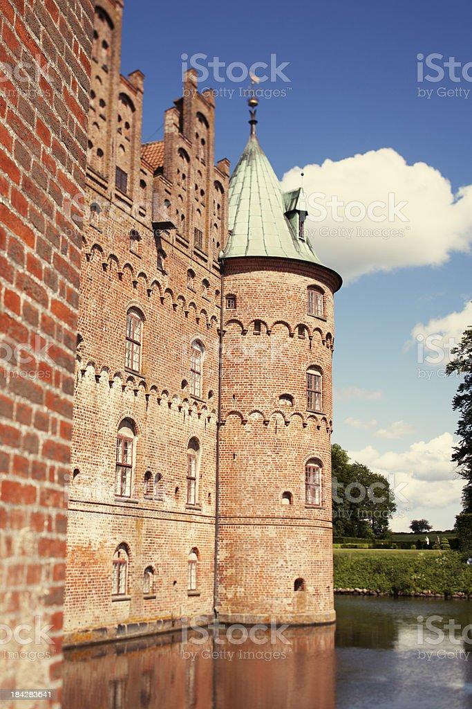 Schloss Egeskov Lizenzfreies stock-foto